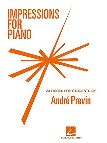 9780793561483: Impressions for Piano: 20 Pieces for Students by Andre Previn