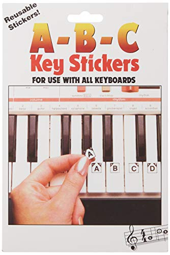 9780793562022: ABC Keyboard Stickers