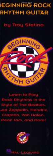 9780793562107: Beginning Rock Rhythm Guitar: English Edition (Pocket Guide)