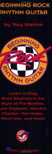 9780793562107: Beginning Rock Rhythm Guitar