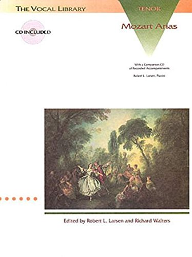 9780793562411: Mozart Arias for Tenor: The Vocal Library