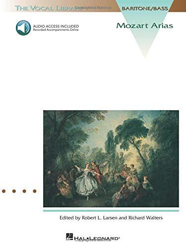 9780793562428: Mozart arias for baritone/bass +CD