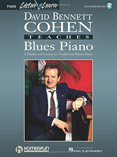 9780793562572: David Bennett Cohen Teaches Blues Piano (Listen & Learn)