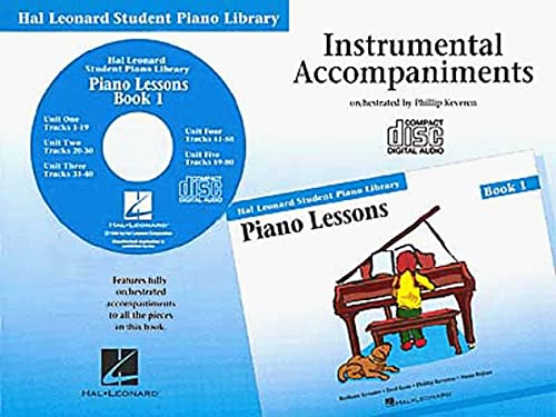 9780793562633: Piano Lessons, Book 1: Instrumental Accompaniments (Student Piano Library)
