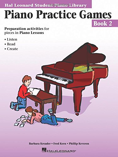 9780793562664: Piano Practice Games Book 2: Hal Leonard Student Piano Library