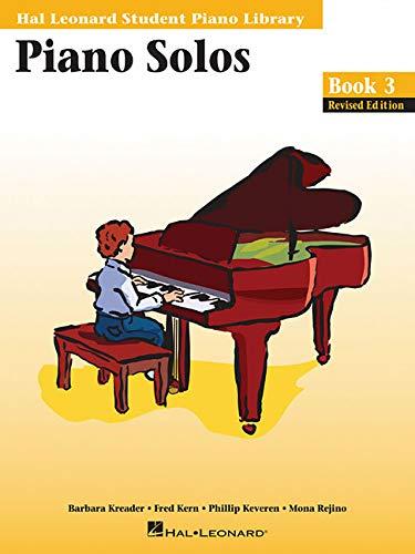 9780793562725: Piano Solos - Book 3: Hal Leonard Student Piano Library