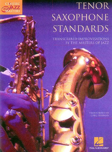 9780793563548: Tenor Saxophone Standards: Classic Jazz Masters