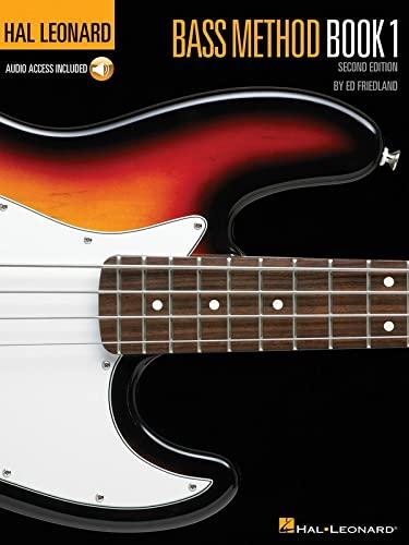 9780793563777: Hal Leonard Bass Method Book 1: Book/Online Audio (Hal Leonard Electric Bass Method)