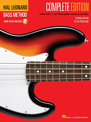 9780793563838: Hal Leonard Bass Method: Complete Edition (Book/3CD)