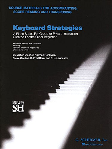 9780793564163: Keyboard Strategies: Source Materials for Accompanying, Score Reading, and Transposing