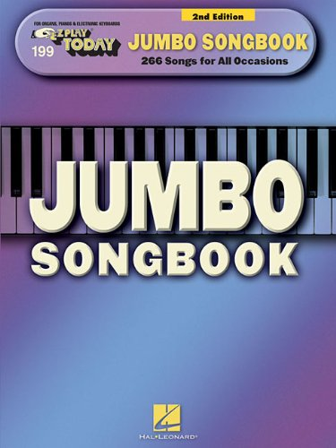 9780793564293: Jumbo Songbook 2nd Edition E-Z Play Today 199