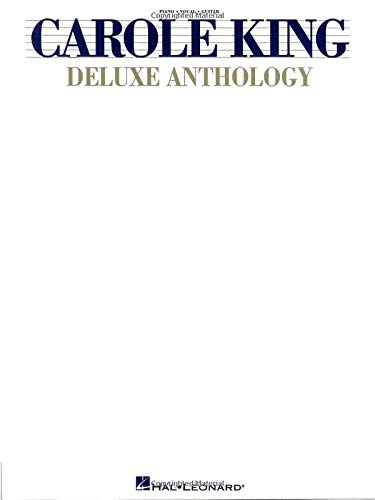 Carole King Deluxe Anthology (Piano/Vocal/Guitar Artist Songbook): KING, Carole