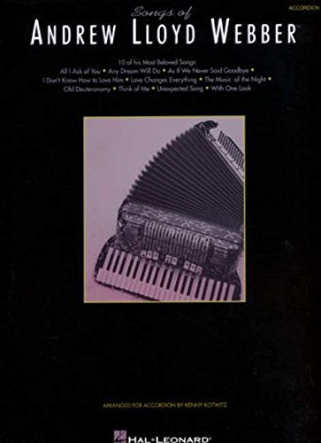9780793565641: Songs Of Andrew Lloyd Webber For Accordion