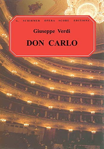 9780793565788: Don Carlos: Vocal Score