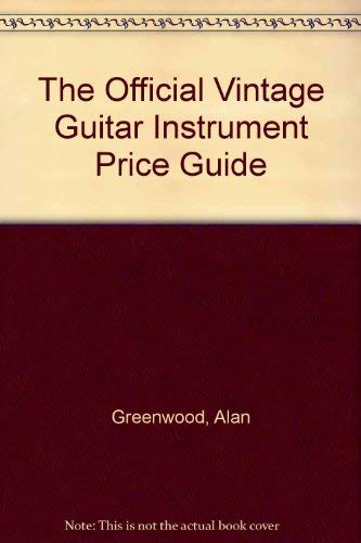 9780793567126: The Official Vintage Guitar Instrument Price Guide