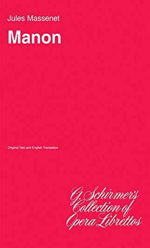 9780793567140: Jules Massenet: Manon (Libretto) Livre Sur la Musique