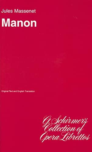 9780793567140: Manon: Sheet Music