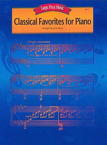 9780793567447: Classical Favorites For Piano (Large Print Music)
