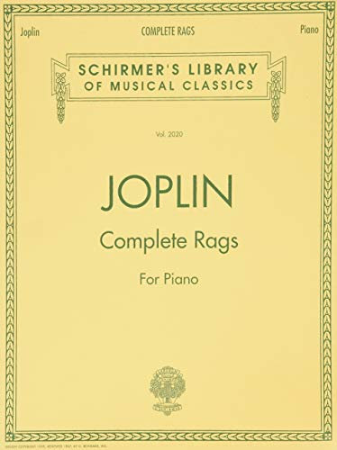 9780793567737: Joplin - Complete Rags for Piano (Schirmer's Library of Musical Classics)