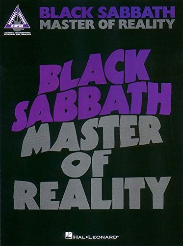9780793567751: Black Sabbath - Master of Reality