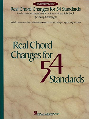 9780793568437: Real Chord Changes for 54 Standards