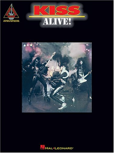 9780793568741: KISS ALIVE] (Guitar Recorded Versions)