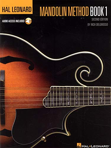 9780793568789: Hal Leonard Mandolin Method - Book 1 With Online Audio