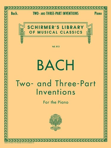 9780793569243: 15 Two- And Three-Part Inventions: Schirmer's Library of Musical Classics