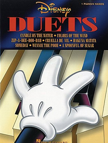 9780793569502: Disney Duets Piano 4 Hands