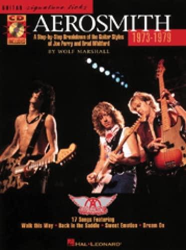 9780793569694: Aerosmith 1973-1979 (Signature Licks Guitar)
