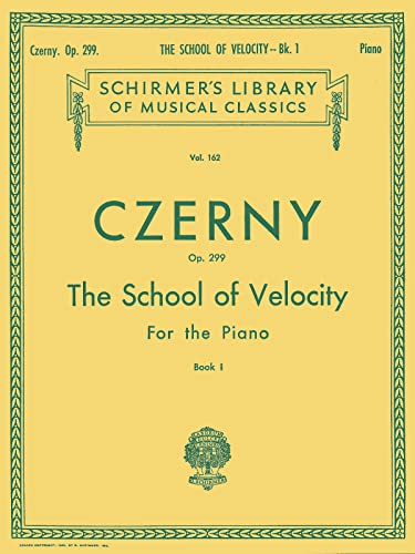 Czerny: School of Velocity for the Piano,
