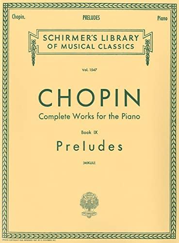 9780793570041: Preludes (Mikuli): Piano Solo