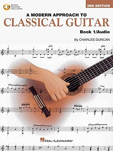9780793570638: A Modern Approach To Classical Guitar Book 1 BK/online audio