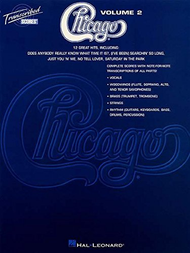 9780793570669: Chicago - Transcribed Scores Volume 2