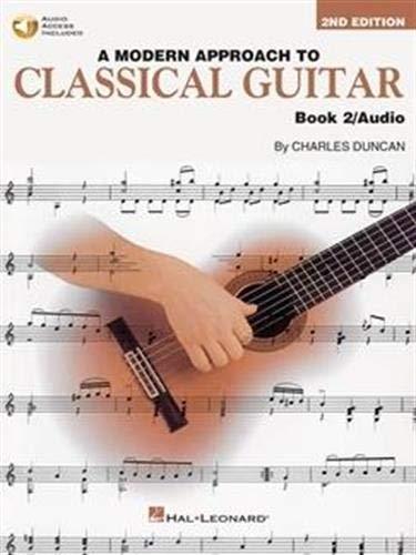 9780793570676: A Modern Approach to Classical Guitar Book 2 - Book/CD Pack