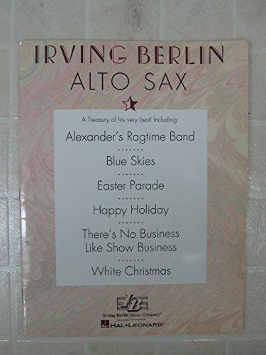 9780793570706: The Irving Berlin Treasury: Alto Sax