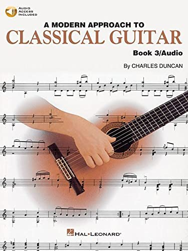 9780793570737: Modern Approach to Classical Guitar: Book 3