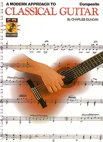 9780793570782: A Modern Approach to Classical Guitar - Composite (Books 1, 2 and 3)(book & 3 CD'S)