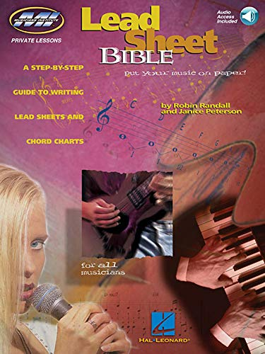 9780793571277: Lead Sheet Bible Tous Instruments +CD (Private Lessons/Musicians Institute)