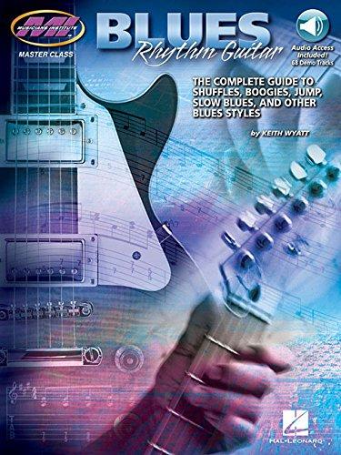 9780793571284: Blues Rhythm Guitar Book & Online Audio(Master Class)