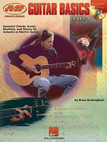9780793571314: Guitar Basics: Essential Chords, Scales, Rhythms and Theory (Private Lessons) Book & Online Audio