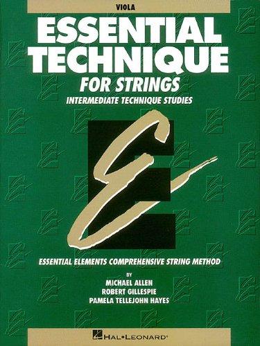 9780793571475: Essential Technique for Strings (Original Series): Viola