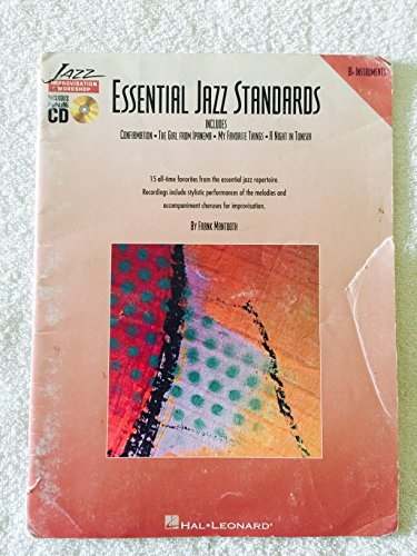 Essential Jazz Standards (B-flat Instruments) (0793571677) by Frank Mantooth