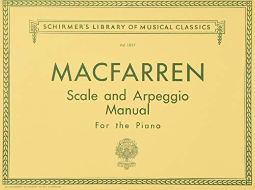 9780793572236: Scale and Arpeggio Manual: For the Piano (Schirmer's Library of Musical Classics)