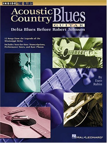 9780793572250: Acoustic Country Blues Guitar