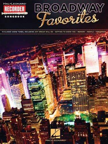 9780793572281: Broadway Favorites: Hal Leonard Recorder Songbook