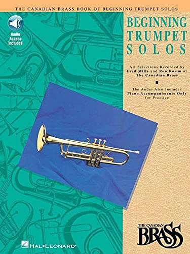 9780793572458: Canadian Brass Book of Beginning Trumpet Solos: With Online Audio of Performances and Accompaniments