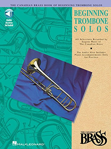 9780793572472: The Canadian Brass Book of Beginning Trombone Solos: With Online Audio of Performances and Accompaniments