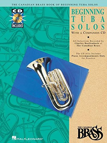9780793572489: Canadian Brass Book of Beginning Tuba Solos: With a CD of Performances and Accompaniments