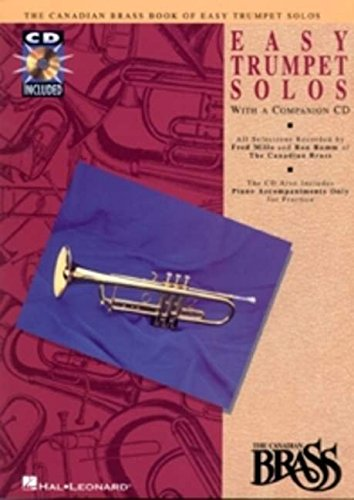 9780793572496: Canadian Brass Book of Easy Trumpet Solos: with a CD of performances and accompaniments